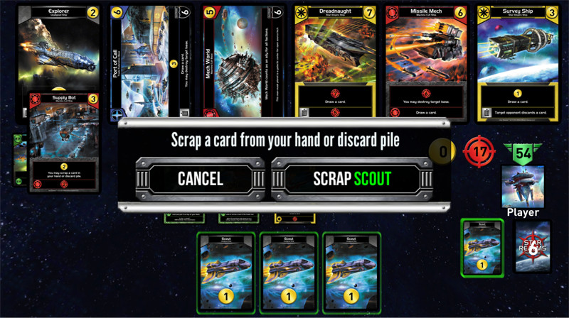 Star Realms Scrap Ability