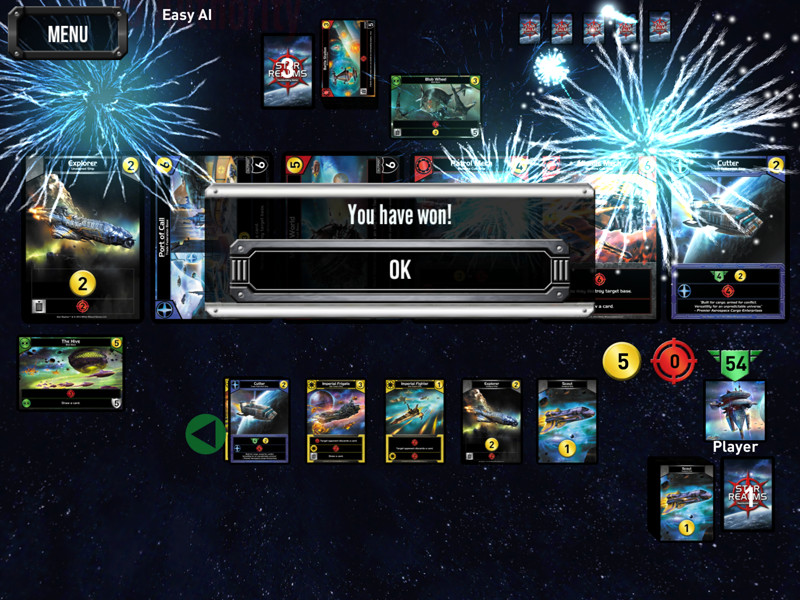 Star Realms You Win