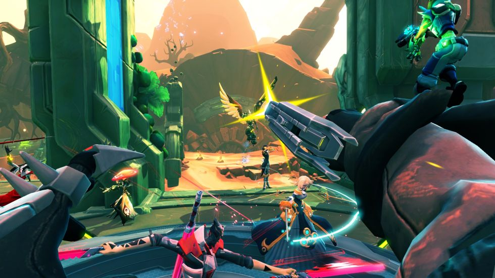 Battleborn FPS view