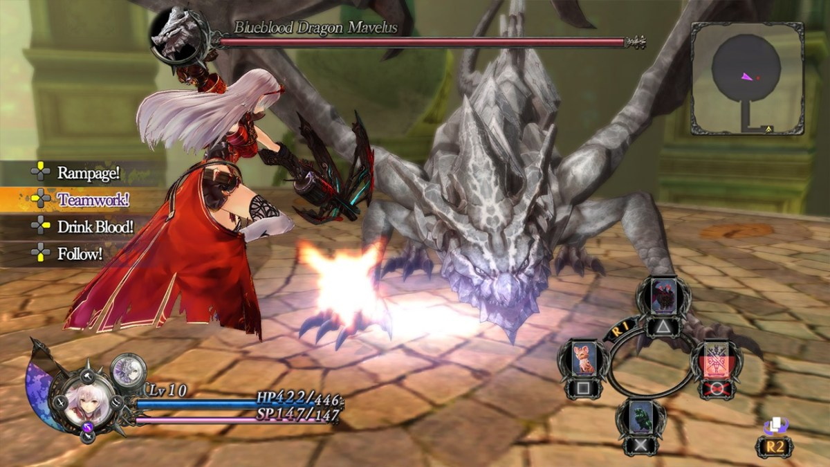 Nights of Azure Dragon Boss
