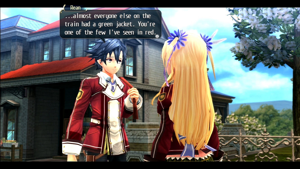 Trails of Cold Steel Rean and Alisa
