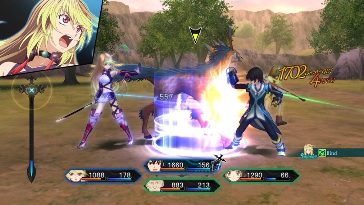 Xillia combat