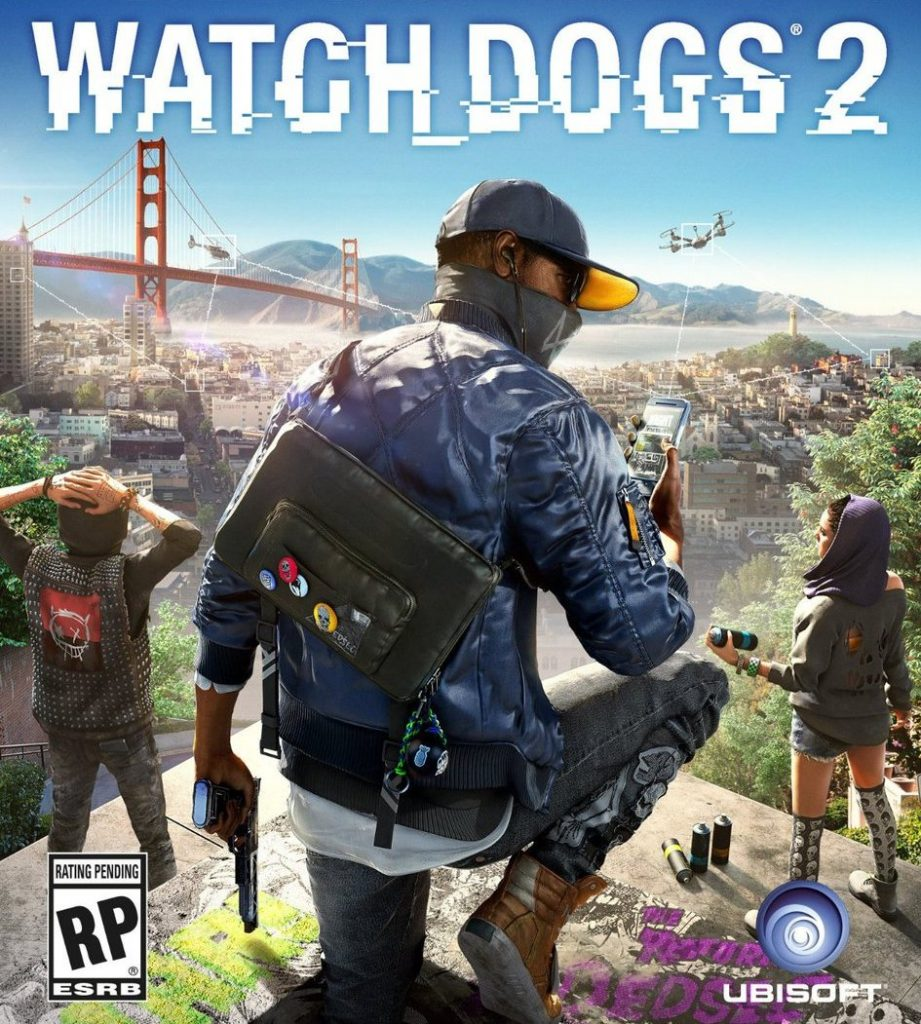 watch dogs 2 box art