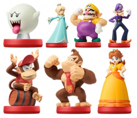 Mario Party Star Rush Amiibos