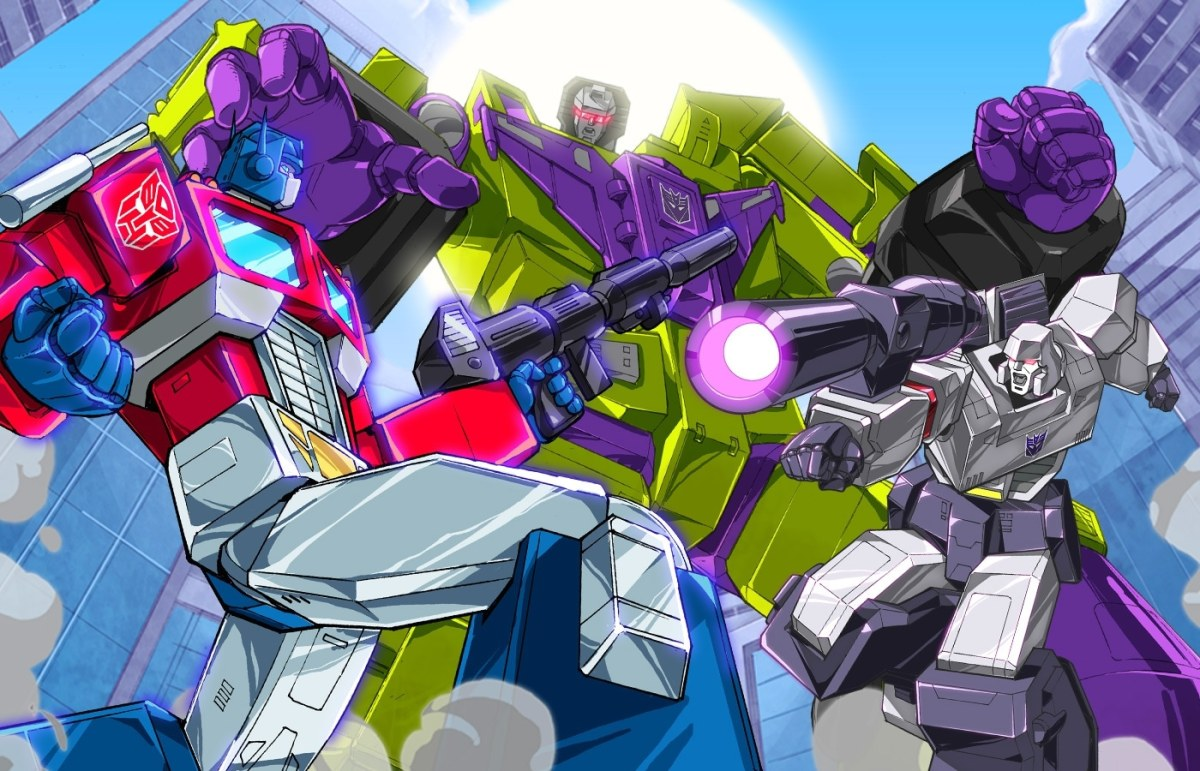 Tranformers Road Warriors Image 1