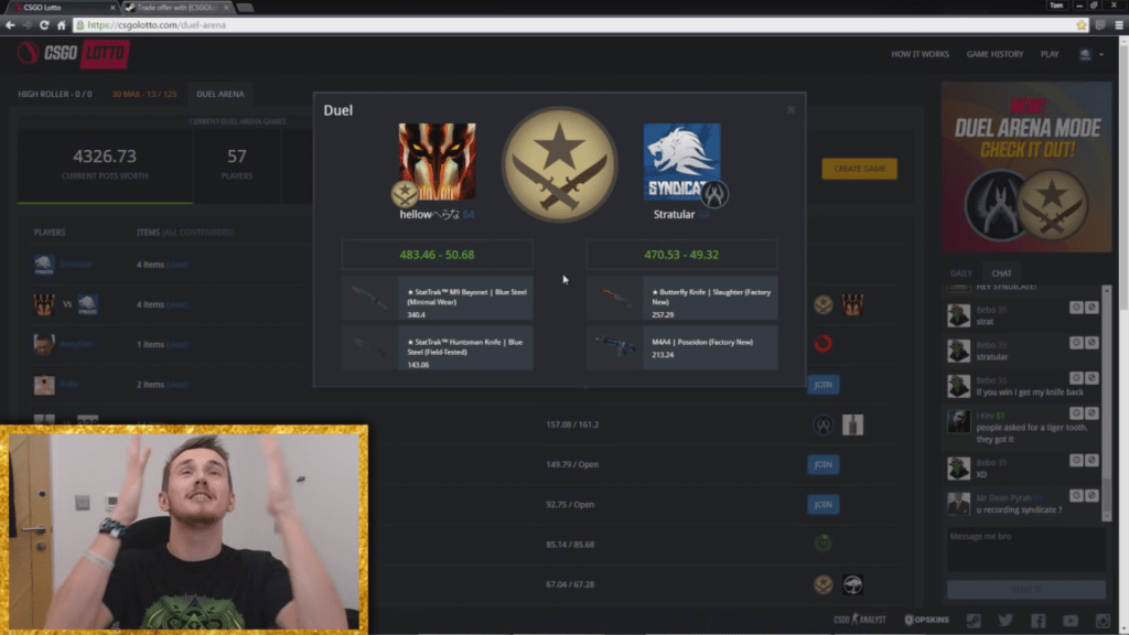 ProSyndicate CSGO Lotto