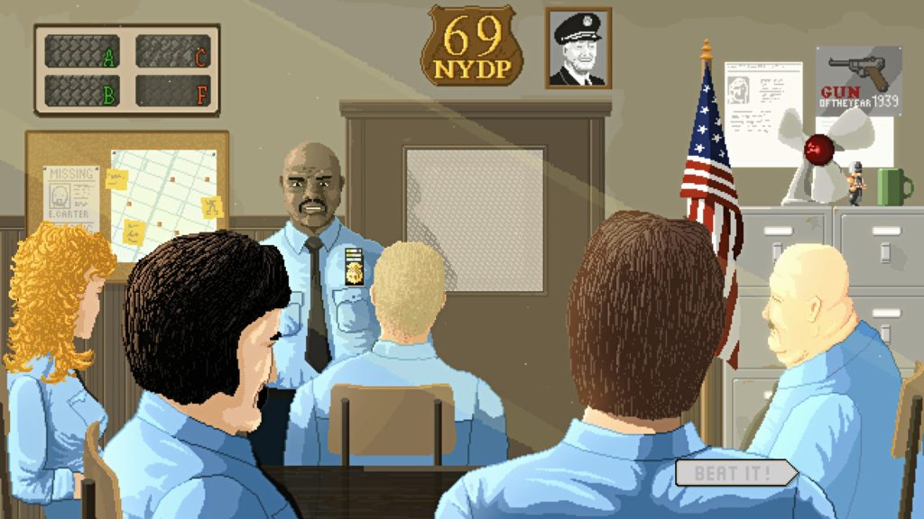 Beat Cop Office
