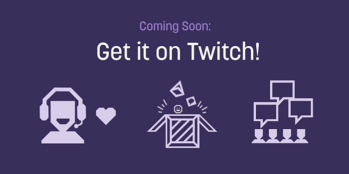 Get it on twitch game shop logo