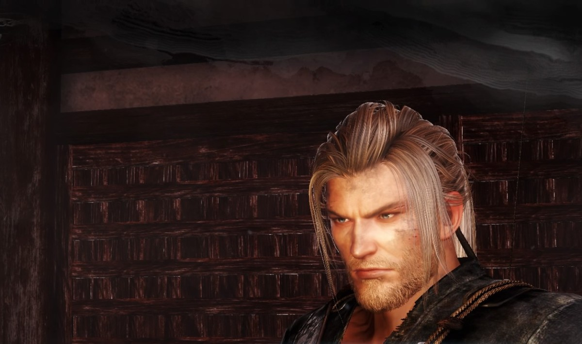 William thee Protagonist of Nioh