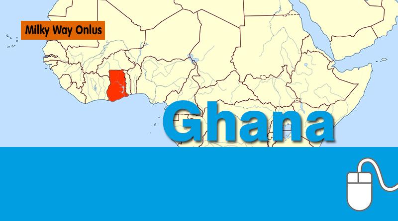 Milky Way Onlus è un'associazione che opera in Ghana