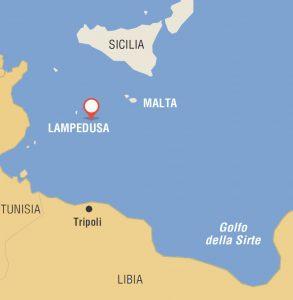 Lampedusa Sulla Cartina Geografica.Ecografo Il Biteb A Lampedusa