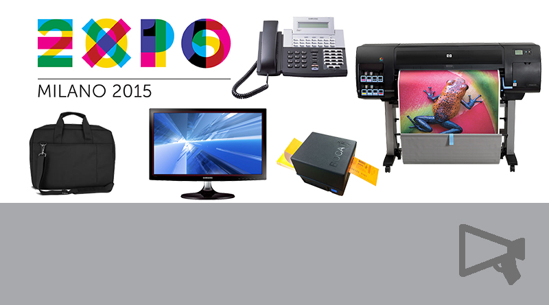 Materiale Expo2015