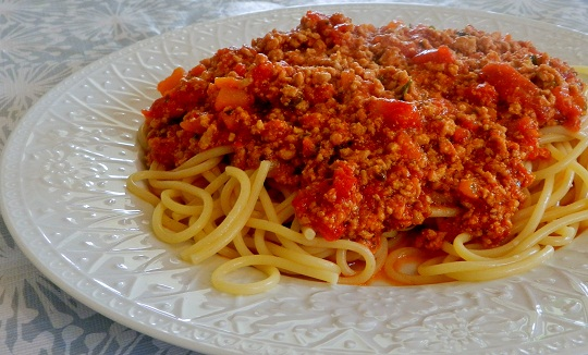 Milk-Fed Veal Bolognese and saying good-bye