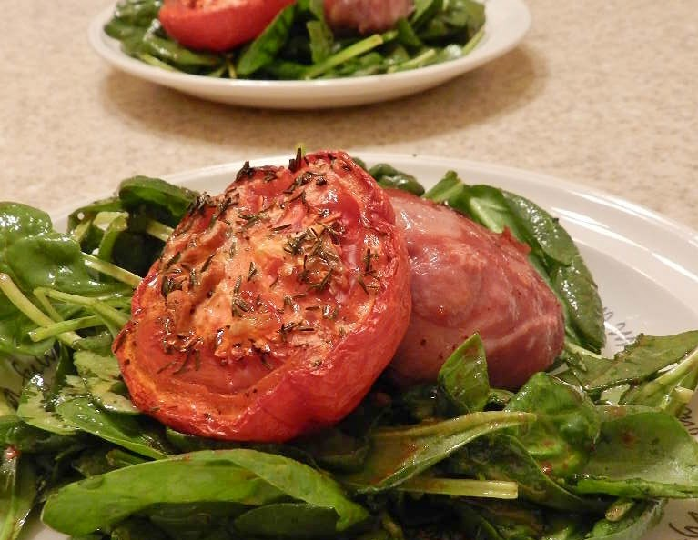 Best Spinach Salad in the World – just sayin'