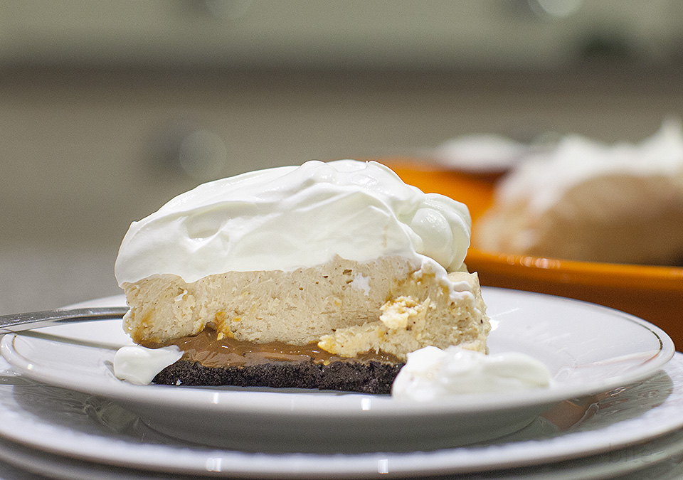 peanut butter cream cheese pie – my love language