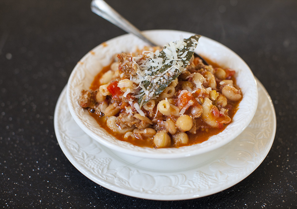 pasta e fagioli – the perfect covid – 19 dish