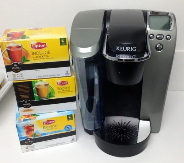 Food Product And Freebies - Win Lipton -cups & Keurig Brewing Machine