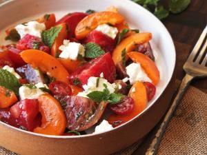 tomato mint salad