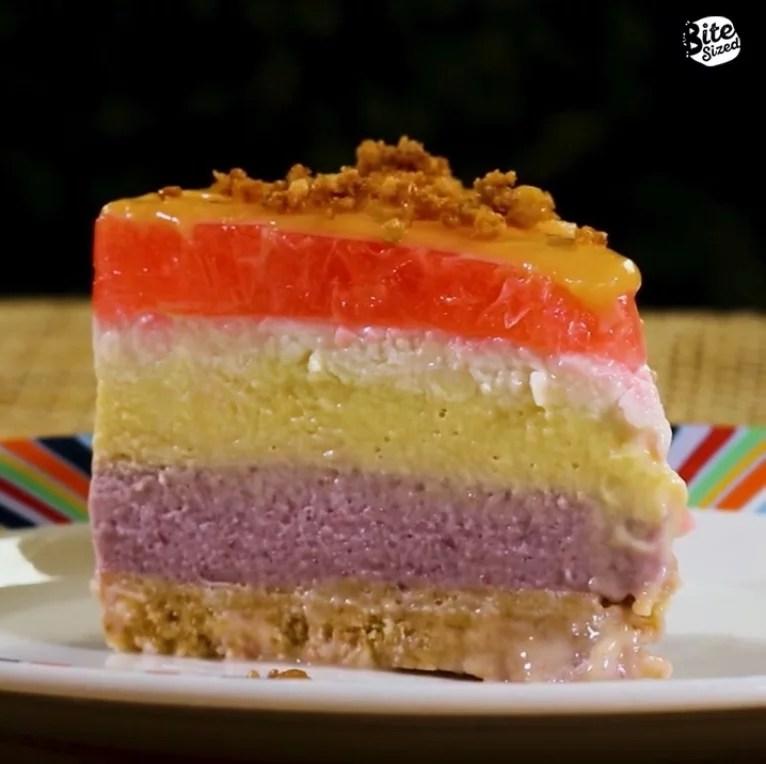 Sapin-Sapin Cheesecake