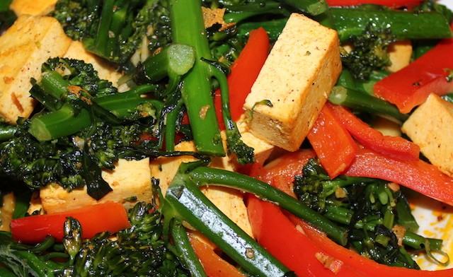 Tofu broccolette stir fry recipe