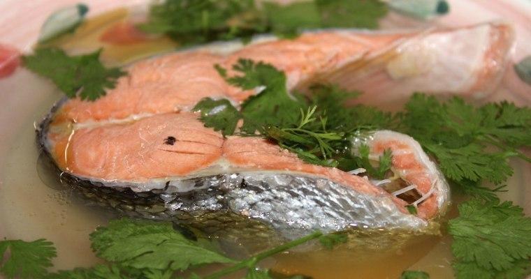 Wild sockeye salmon soup recipe