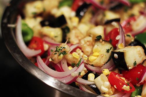 roasted veg quinoa 1