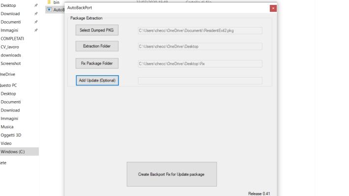 [Scena PS4] Rilasciato AutoBackPort v0.5