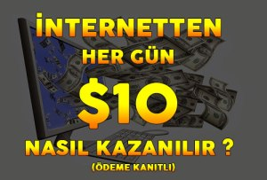 internetten hergün 10 dolar kazan