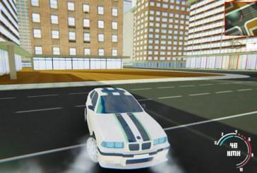 Şehirde Arabayla Drift ~ [Ücretsiz Oyunlar]