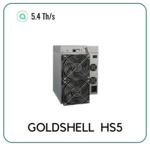 Goldshell HS5 Siacoin 5.4 TH/S