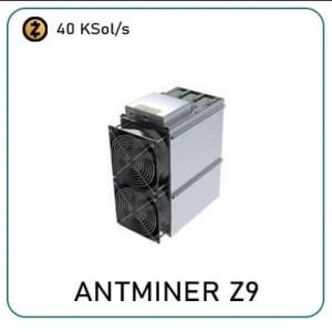 Bitmain Antminer Z9 40.8 Ksol/s