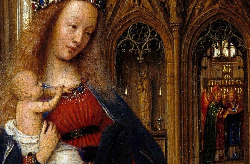 "Jan van Eyck, ""Djevica u crkvi"", 1438. Foto: Wikimedia commons, kardinal kuharić o mariji"