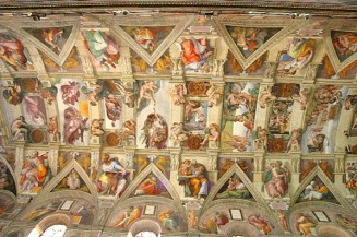 Michelangelov svod Sikstinske kapele, Foto: Wikimedia commons
