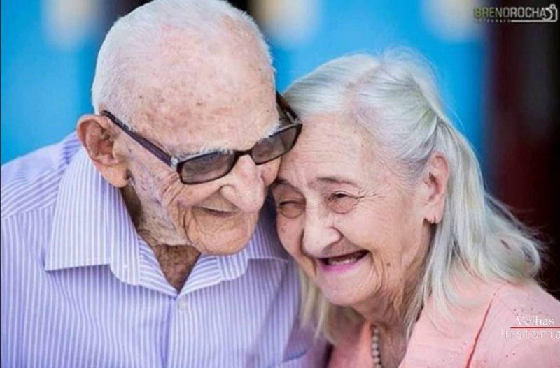 brazilski bračni par, 65 godina u braku
