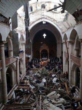 Božićna misa u Siriji 2