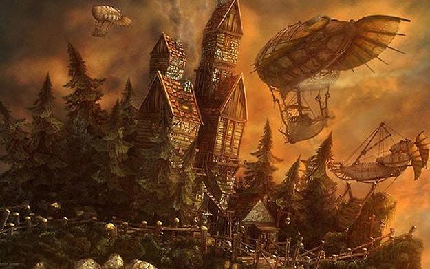 Fall Pumpkins Desktop Wallpaper A Tribute To Steampunk An Art Movement Bit Rebels