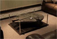 The Star Wars Millennium Falcon Coffee Table | Bit Rebels