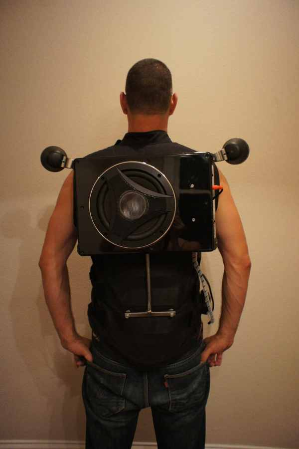 Wearable Boombox Backpack Packs Divine Punch Bit Rebels