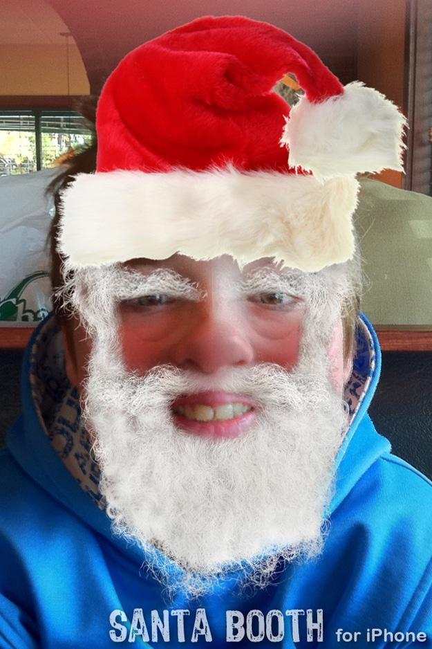 Santa Booth App Transform Anyone Into A Jolly Santa Claus