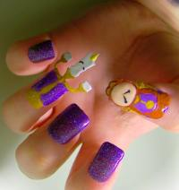 15 Extraordinary Movie & Television Inspired 3D Nail Art ...