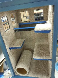 DIY Kitty TARDIS Playhouse For Cats Who Love The Doctor ...