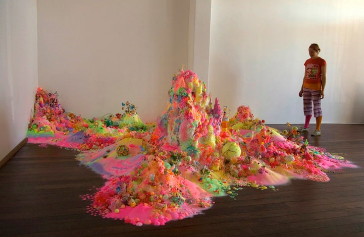 Neon Candy Art That Will Make You Want To Lick The Floor