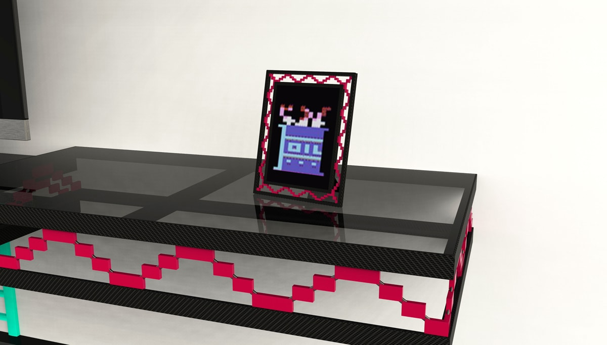 Retro Gaming Decor The Geeky Donkey Kong Wall Shelf