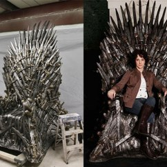 Iron Throne Chair Cover Make Up Chairs Game Of Thrones The 30 000 Handmade Replica