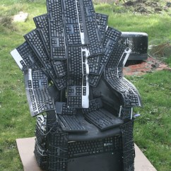 Game Of Throne Chair Chairs For Toddlers Nerds Thrones Tribute Made From