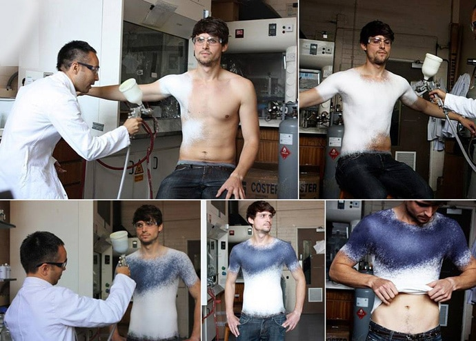 spray-on-clothing-fabric-technology