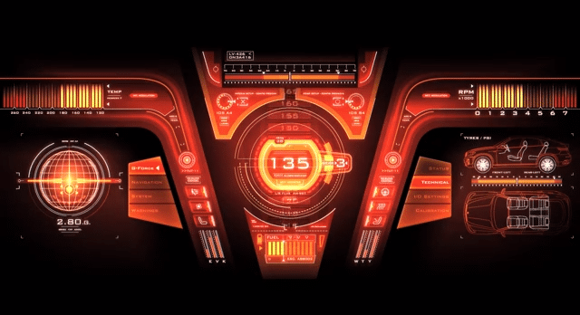 1920x1080 Hd Wallpaper Car Hud Future Car Dashboards Will Be Completely Customizable