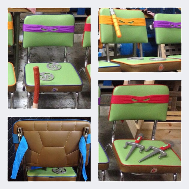 ninja turtles chair desk ergonomic custom made teenage mutant chairs you d want to sit on