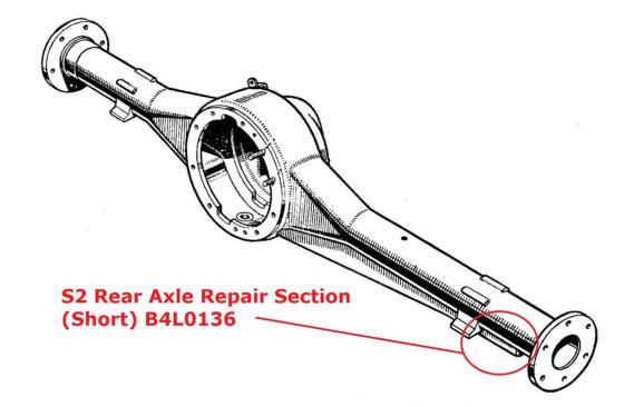 Series 2 Rear Axle Repair Section