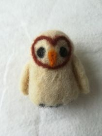 Needlefelted owl by Jen